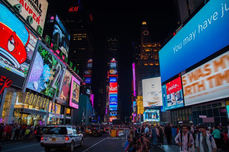 Một New York đông đúc và náo nhiệt