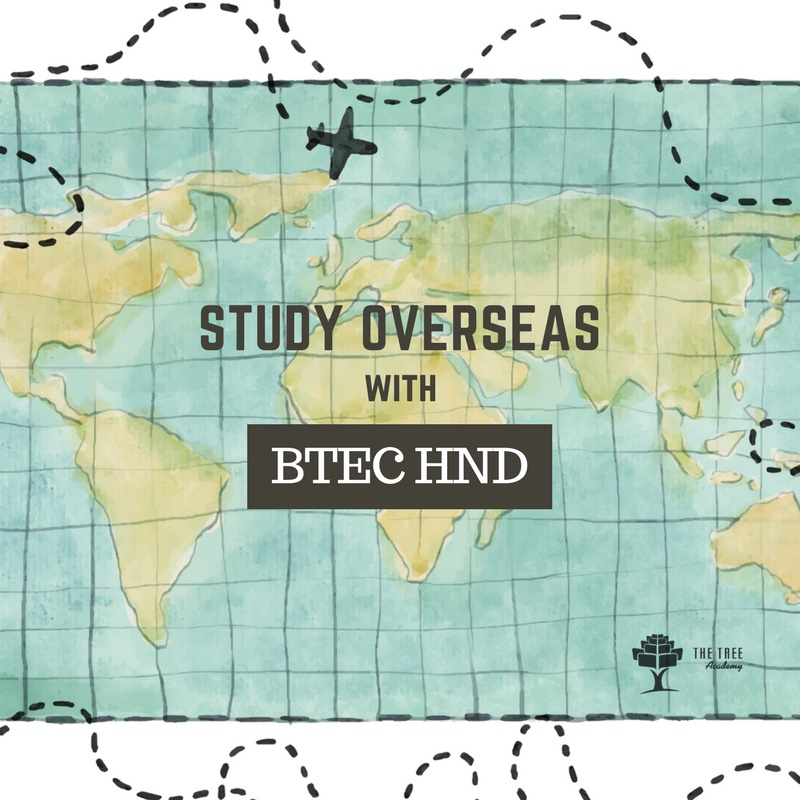 BTEC HND top-up worldwide