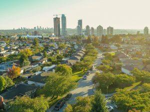 Cảnh quan thành phố Burnaby - Canada
