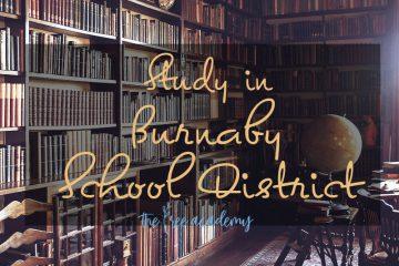 Giới thiệu về nhóm trường trung học Burnaby School District
