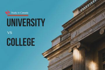 Sự khác nhau giữa đại học và cao đẳng tại Canada