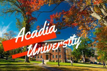 Acadia University – Học tại ĐH Top 50 Canada cùng cơ hội giành học bổng
