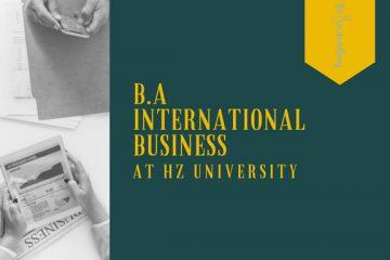 Học Cử nhân International Business cùng Đại học KHƯD HZ