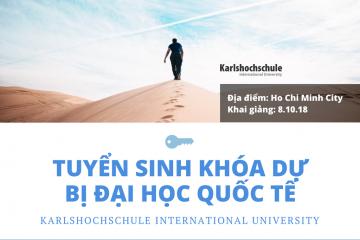 Tuyển sinh chương trình dự bị đại học đầu tiên của Karlshochschule tại Việt Nam vào tháng 10/2018