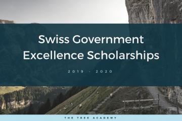 Học bổng chính phủ Thụy Sĩ dành cho sinh viên quốc tế năm 2019-2020