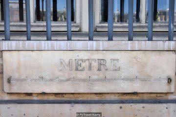 Pháp đã tạo ra hệ đo lường mét như thế nào