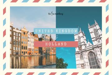 Du học Anh hay Hà Lan?
