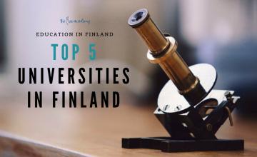 5 trường đại học hàng đầu phần lan